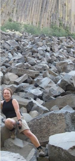 Martha Murphy Photo at Devils Postpile NM
