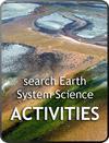 algal growth in hydrothermal waters