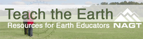 Teach the Earth Button New