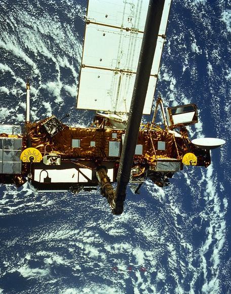 NASA upper atmosphere research satellite