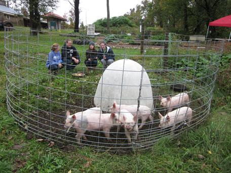 Students at Overlook Farm