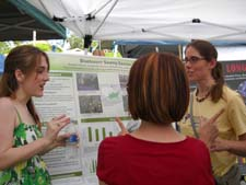 Hurrican Ecology Student Presents Research at the April 2009 Louisiana Earth Day Festival