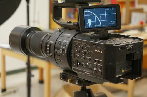 photo of Sony NEX FS700 and Zeiss 100 F2 for DMV