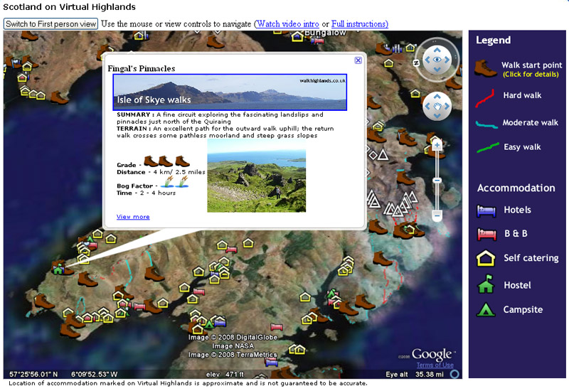 Googleearthapiexampleg google earth api example walking highlands gumiabroncs Image collections