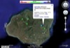 Google Earth view of USGS Stream Gages on Kauai