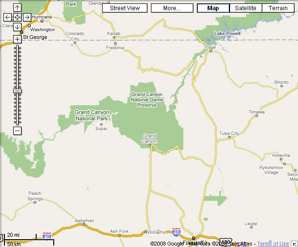 Google maps google maps grand canyon in map view gumiabroncs