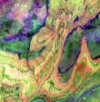 ASTER image of Anti-Atlas Mountains
