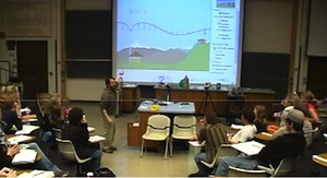 Using PhET sims in lecture
