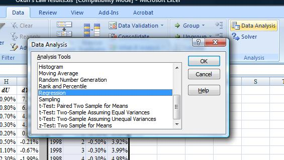 Spreadsheet Tools – Data Analysis Excel