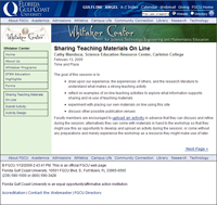 Whitaker Center Screenshot