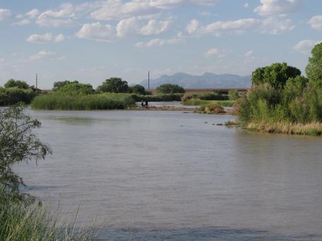 Rio Grande near El Paso