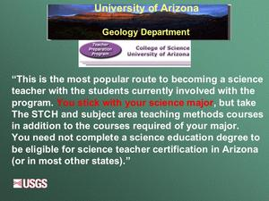 Slide 25 from Ridkey presentation at 2003 Teacher Prep workshop