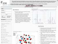 ICSD Web: the Inorganic Crystal Structure Database