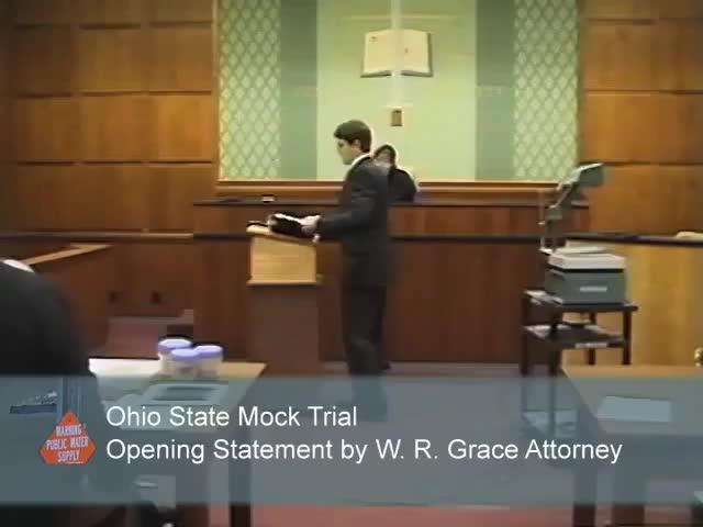 Videoclips Of Mock Trials