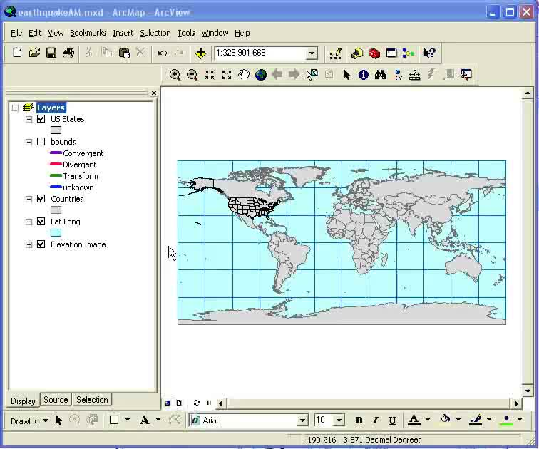 Intro to Mapping Tabular Data in ArcGIS
