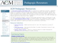 Go to http://serc.carleton.edu/acm_resources/index.html