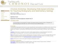 Go to https://serc.carleton.edu/chronos/index.html