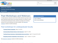 Go to http://cleanet.org/clean/community/workshopsandwebinars.html