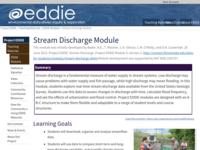 Go to /eddie/enviro_data/activities/stream_discharg.html
