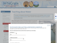 Go to http://serc.carleton.edu/integrate/teaching_materials/water.html
