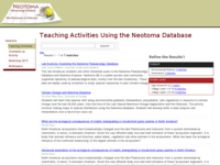 Go to /neotoma/activities.html
