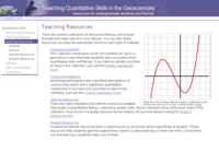 Go to /quantskills/teaching_resources/index.html