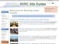 Go to /serc/site_guides/largeclass.html