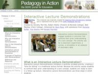 Go to http://serc.carleton.edu/sp/library/demonstrations/index.html