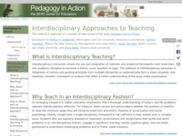 Go to /sp/library/interdisciplinary/index.html