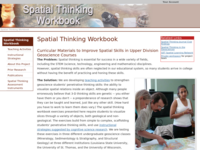Go to http://serc.carleton.edu/spatialworkbook/index.html