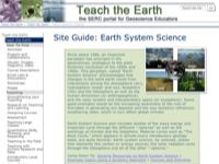 Go to /teachearth/site_guides/ess.html