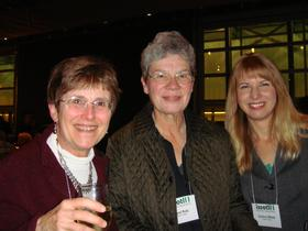 Mary Taylor Huber, Carol Rutz, and Gudrun Willett
