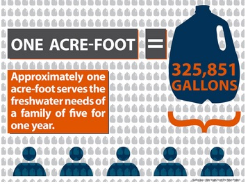 definition of acre foot