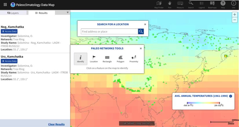 Paleoclimate website image