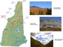 Figure 1: Franconia Notch Location