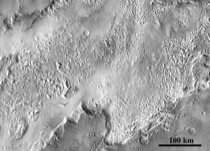 Figure 2b: Hesperian-aged circum-Chryse channels