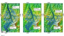 Figure 3. Reconstructions of glaciation around Mount Everest.