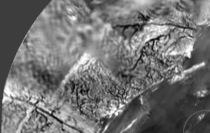 Figure 4: mosaic from the Descent Imager/Spectral Radiometer on the Huygens probe at Titan.