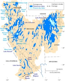 Great Basin paleolakes