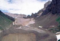 Jumbo Rock Glacier, Alaska.