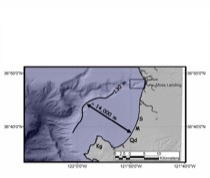 Location of southern Monterey Bay
