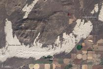 Fig. 2. Remotely sensed sand dunes