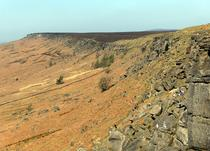 Fig. 2. Stanage Edge, Peak District