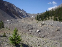 Steep Canyon Rock Glacier