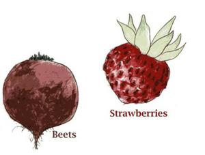 Beets/Strawberries