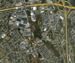 Wells G&H Site via Google Earth