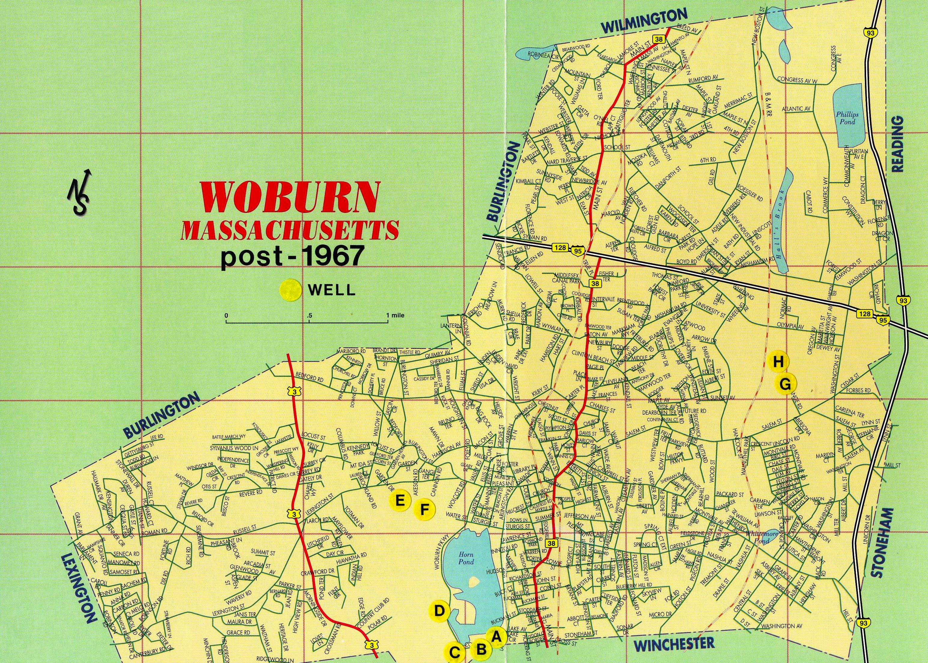 Municipal Wells of Woburn, MA